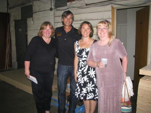 Linda Florio, Jim Feild, Barbara Fisher and Glenda Mcadam