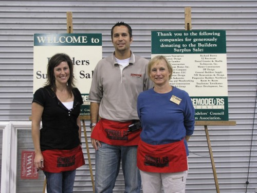 Charlene (The Carpet Place), Mark ( ) and Kathy Fuller (Fuller Spaces)