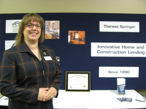 Remodeling 101 sponsor Theresa Springer of Pacific Residential Mortgage