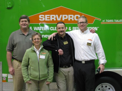Thank you to the Servpro team for hosting our luncheon.