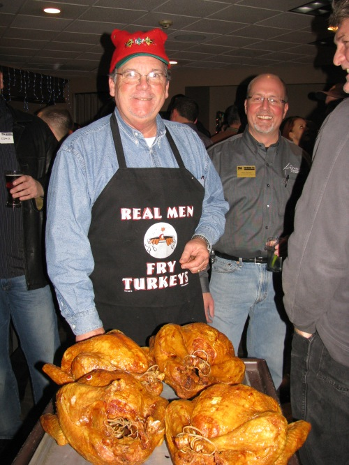 Thank you to CFM for sponsoring the Turkey Fry and Steve Frazier for frying the turkey's.