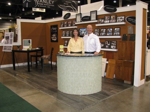 Stanley Home Renovation & Design booth.
